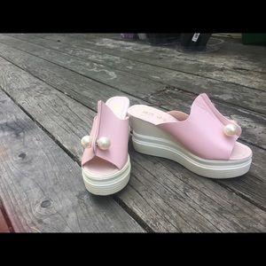 Shoes - Wedge heels sandals